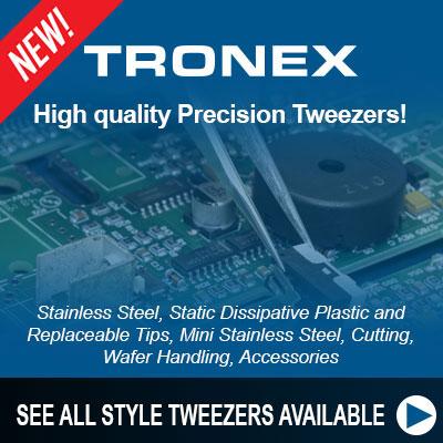 Tronex Tweezers Banner